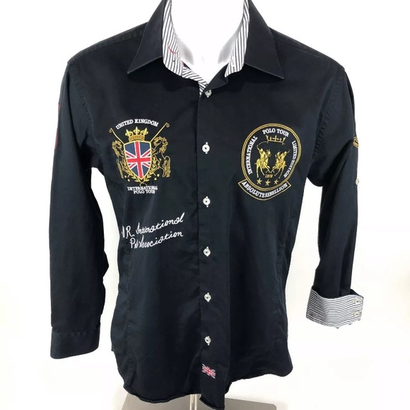 2e5c7be0 Absolute Rebellion Other - Absolute Rebellion UK Embroidered Button Down Sz  L